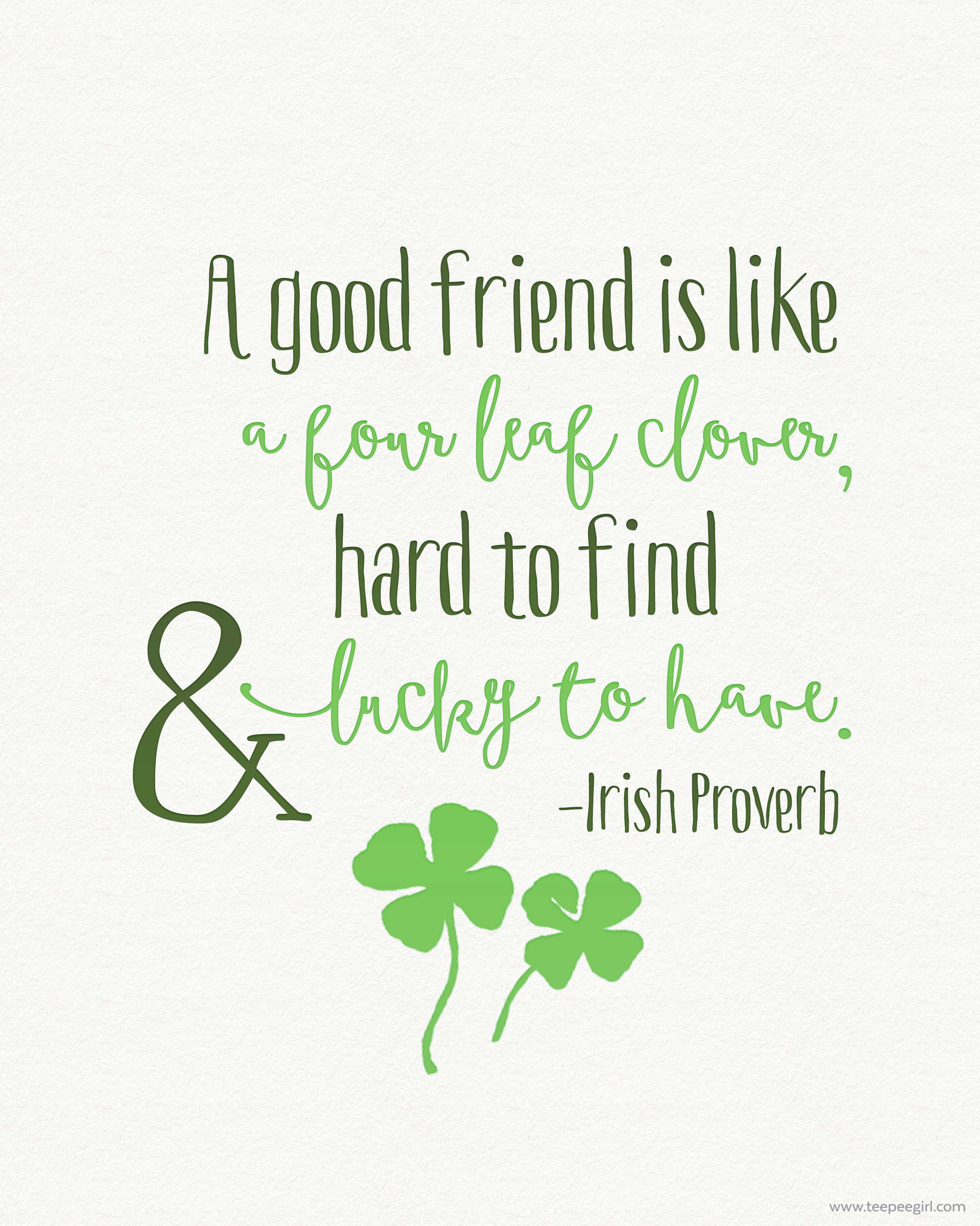 image relating to St Patrick's Day Clover Printable named totally free-st-patricks-working day-printable