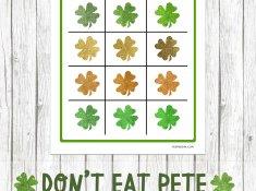 Free Don't Eat Pete Printable www.TeepeeGirl.com
