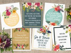 Free April 2016 LDS General Conference Quote Printables   www.TeepeeGirl.com