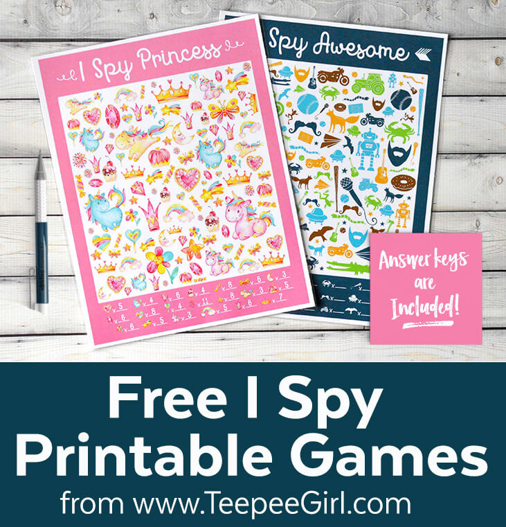 photograph regarding I Spy Printable known as Absolutely free Printable I SPY Video games