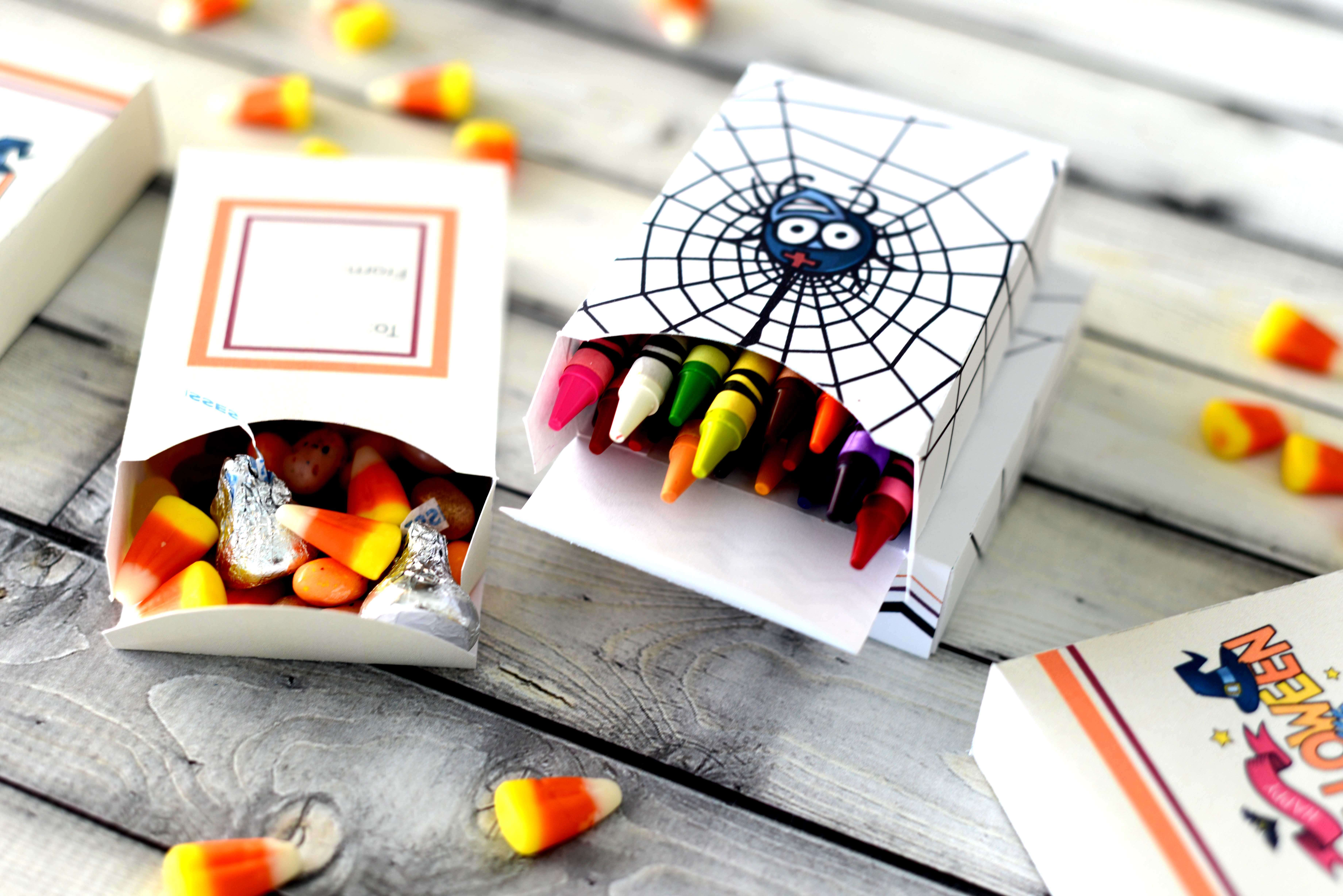 Free Halloween Treat Boxes