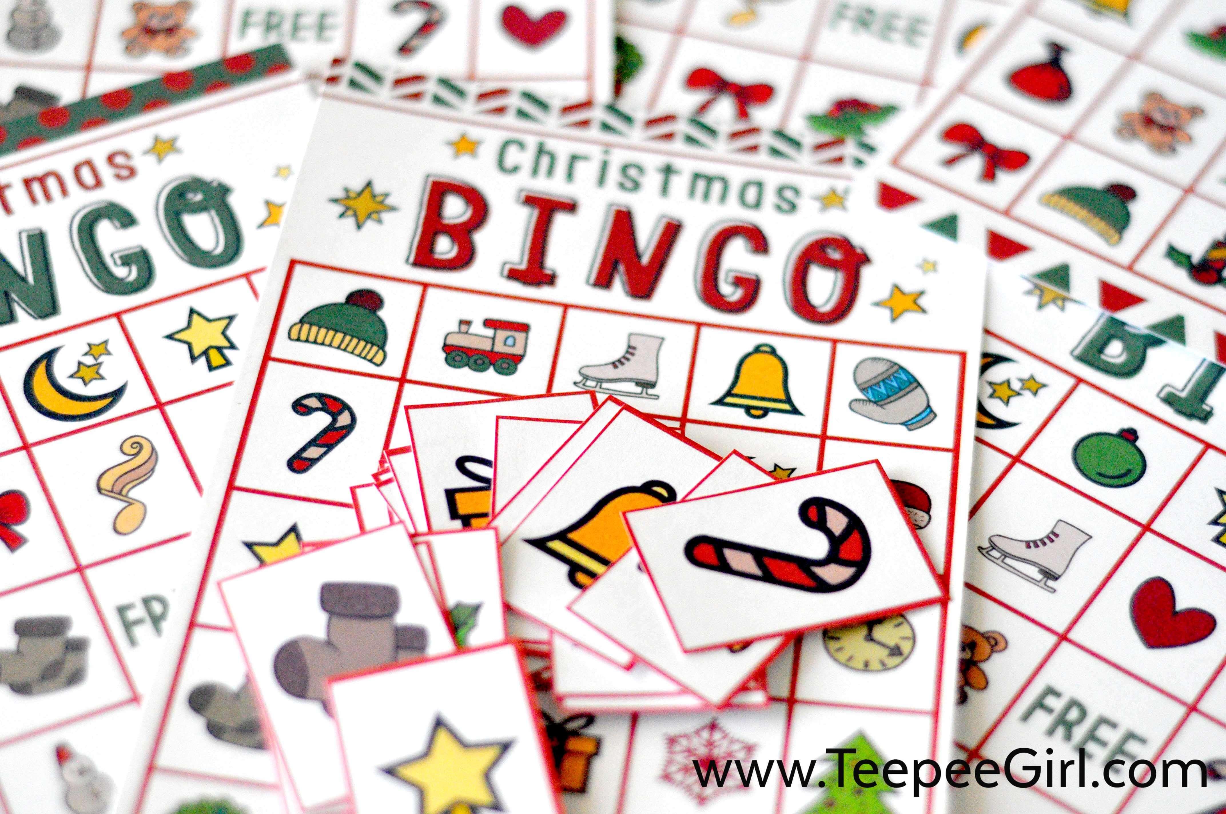 Free Christmas Bingo Game Printable