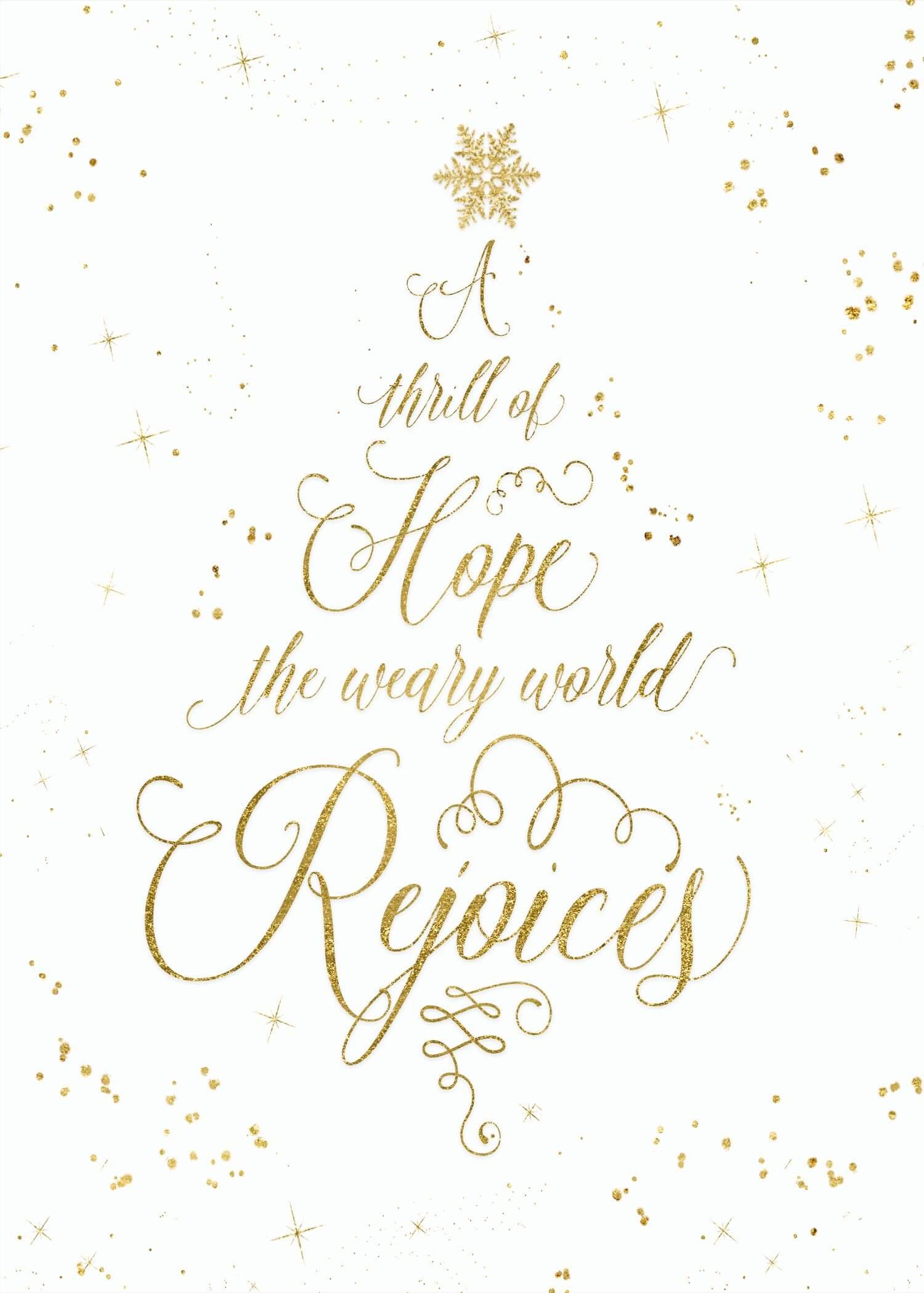Free Christmas Printable Set - Teepee Girl