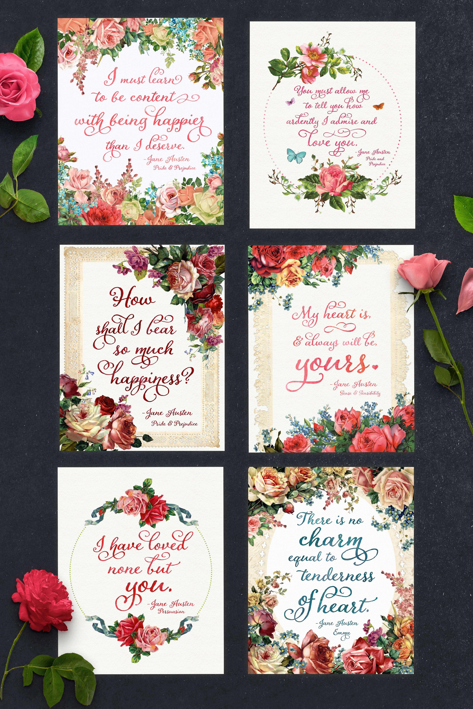 Free Jane Austen Quote Printables