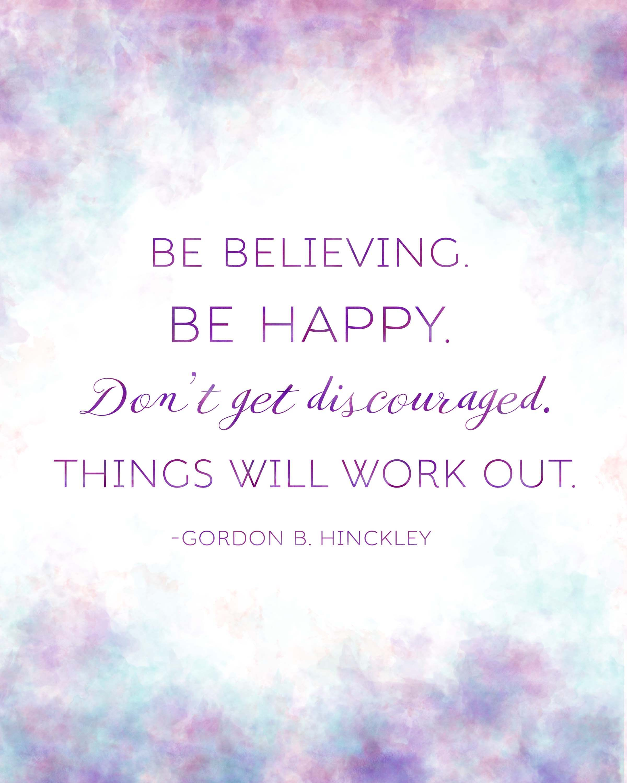Gordon B Hinckley Quotes President Gordon Bhinckley Quote Printables For Relief Society