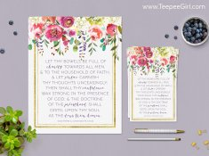 This April LDS visiting message is perfect for leaving a note of love to your sisters and friends! Get it today at www.TeepeeGirl.com.