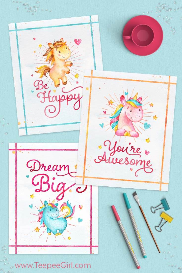 photo relating to Free Printable Unicorn Pictures titled Absolutely free Unicorn Printables