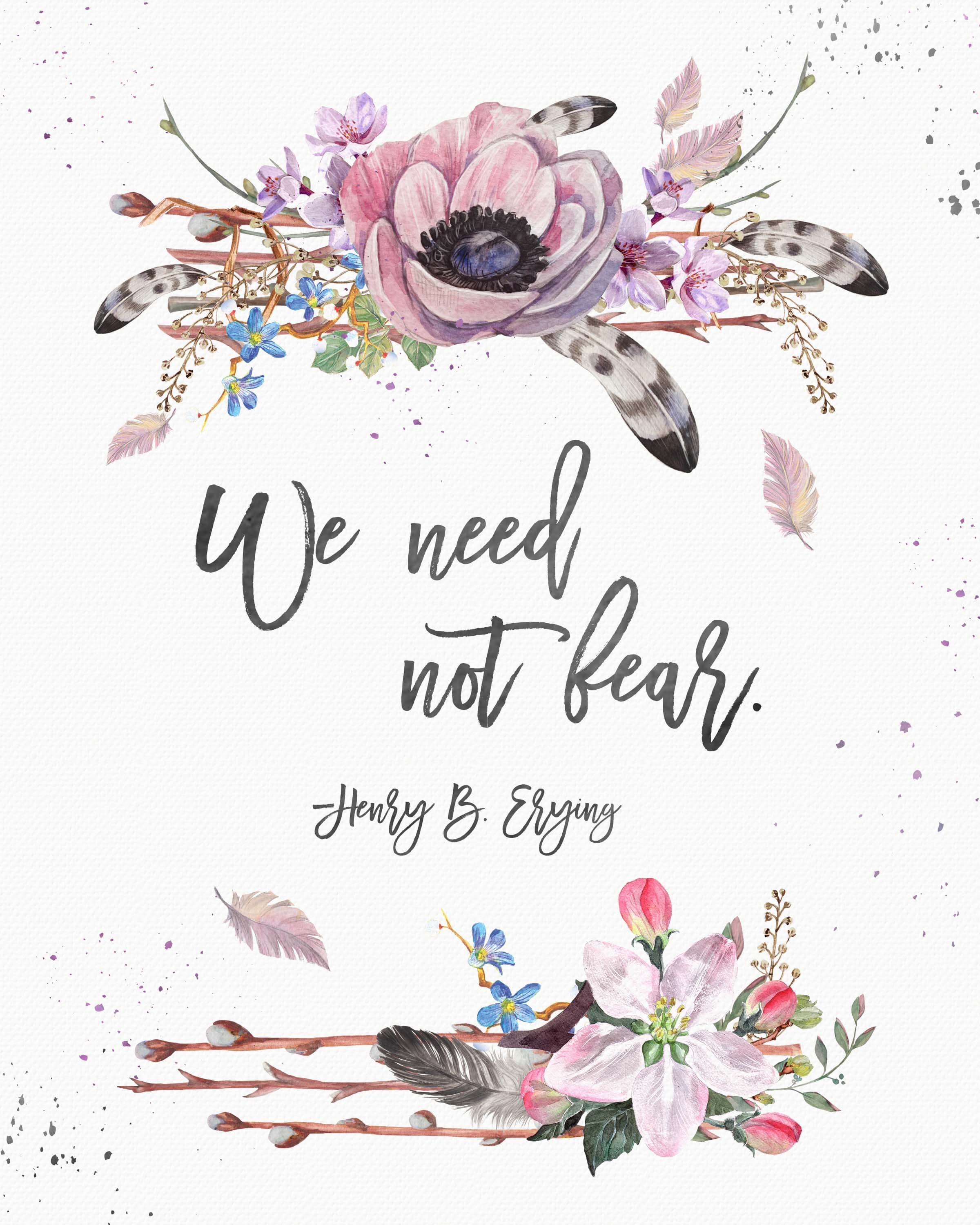 The General Free Quote | Free October 2017 Lds General Conference Quote Printables