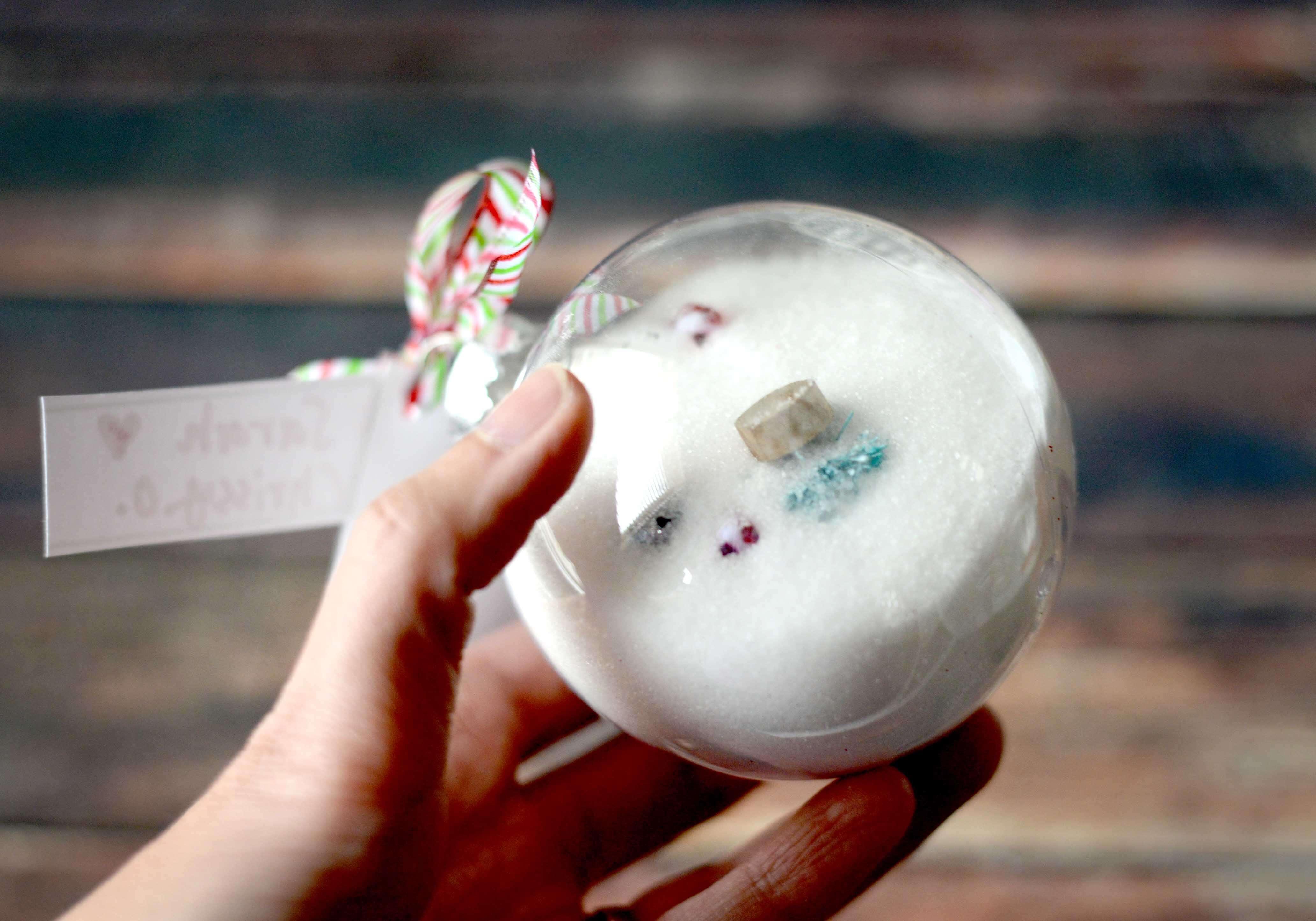 I Spy Christmas Ornament Tutorial Free Printables