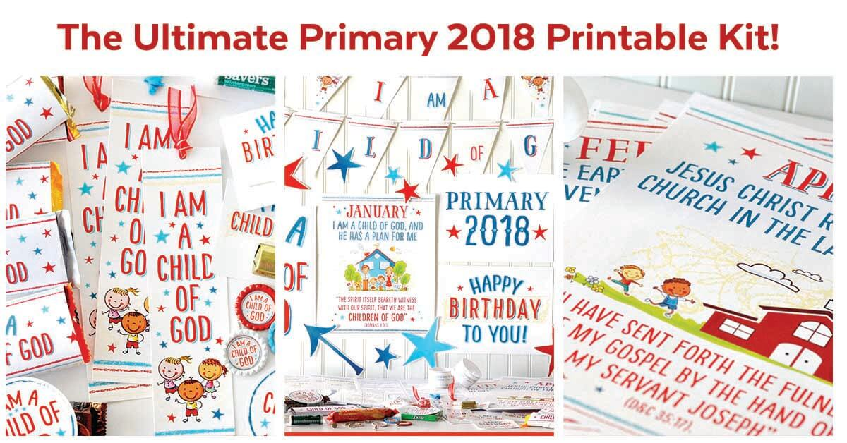 Primary 2018 I Am A Child Of God Printable Kit Teepee Girl 2017 General Conference Coloring Papers