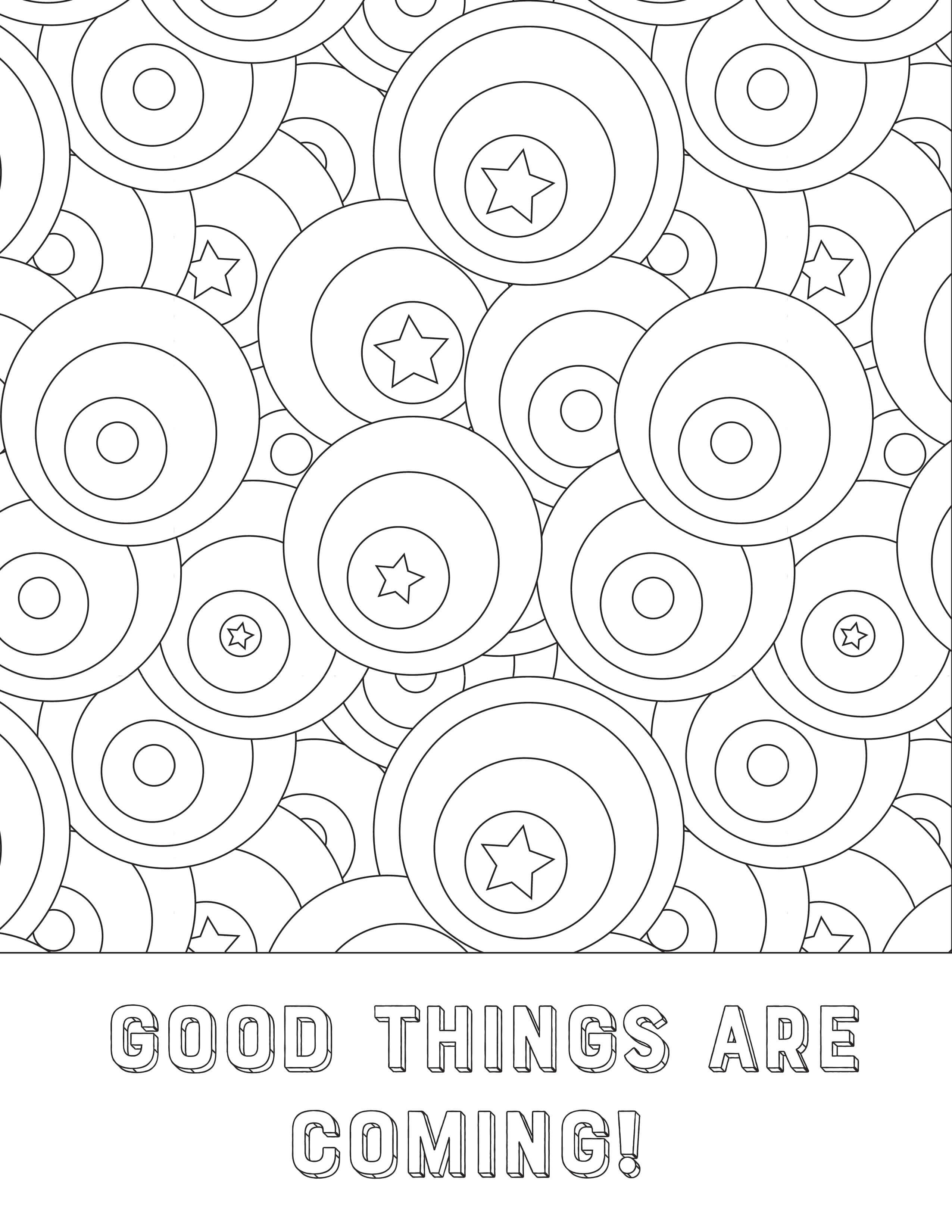 Free New Year Coloring Pages Www Teepeegirl Com