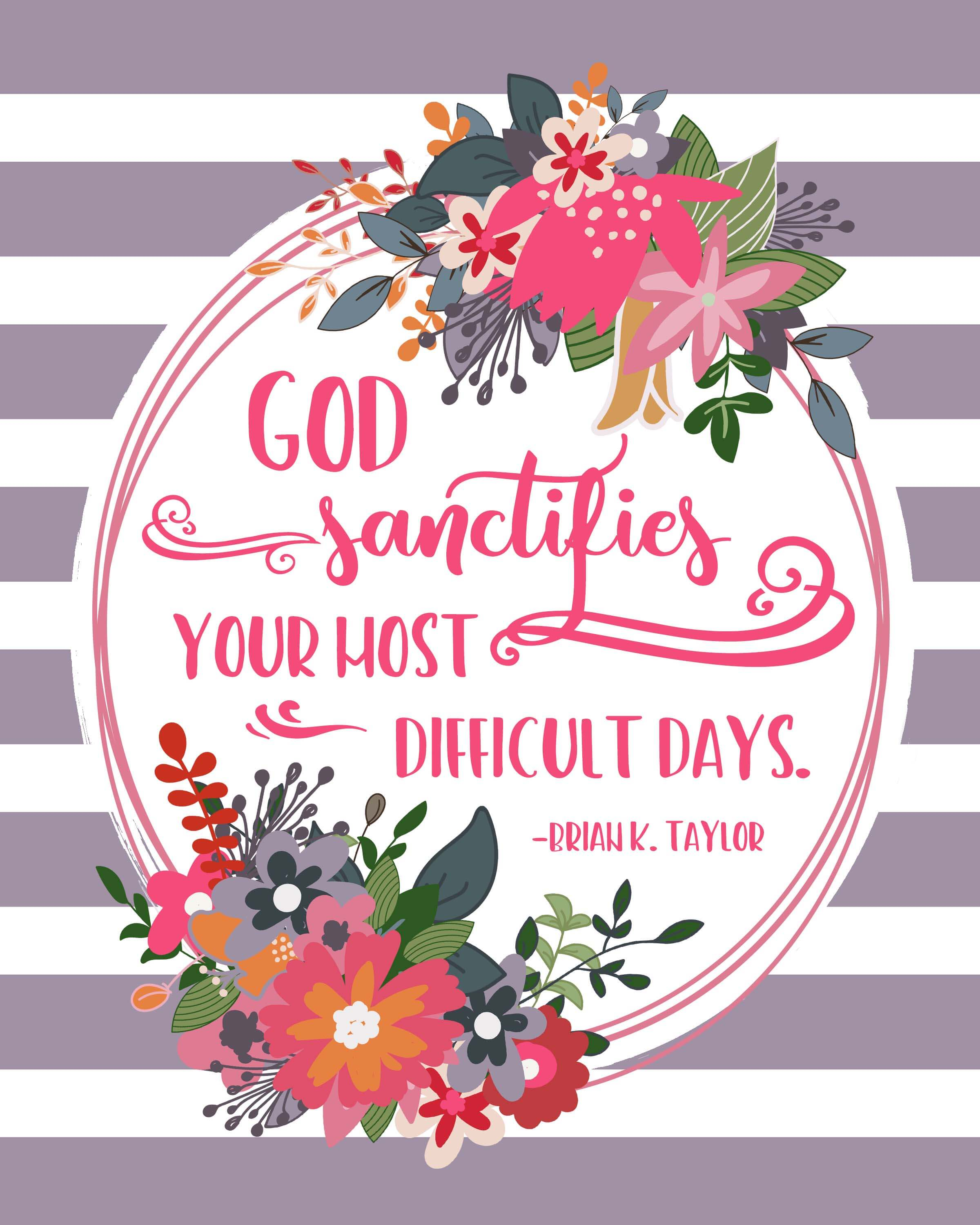 April 2018 General Conference Free Quote Printables