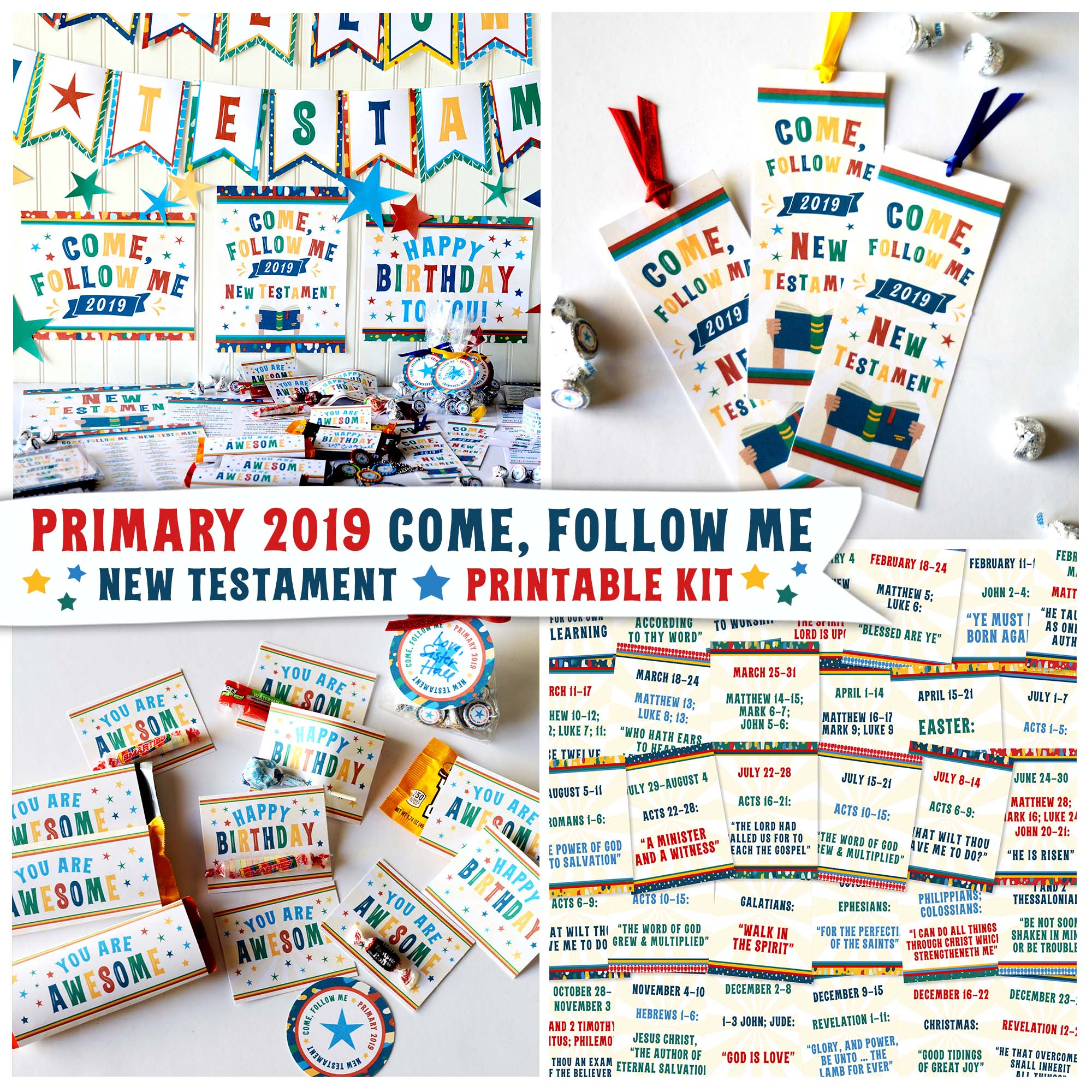 Free 2019 Primary Binders For Come Follow Me New Testament Teepee
