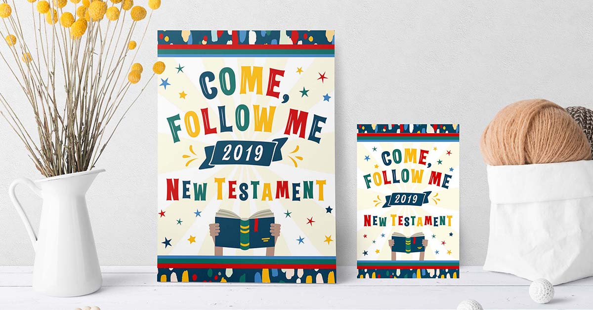 2019 Primary Come, Follow Me New Testament Printable Kit