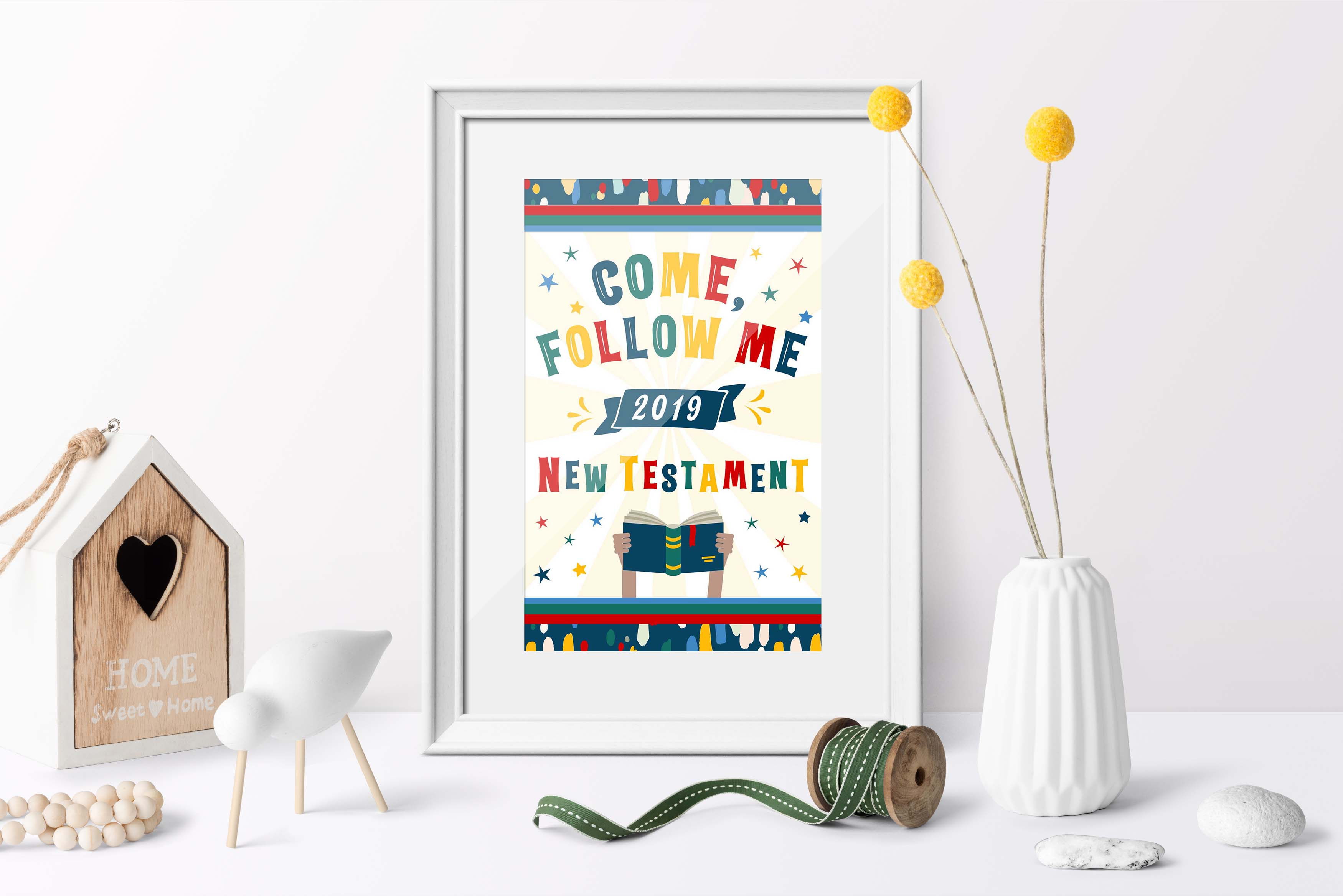 2019 Primary Free Printables For Come Follow Me Teepee Girl