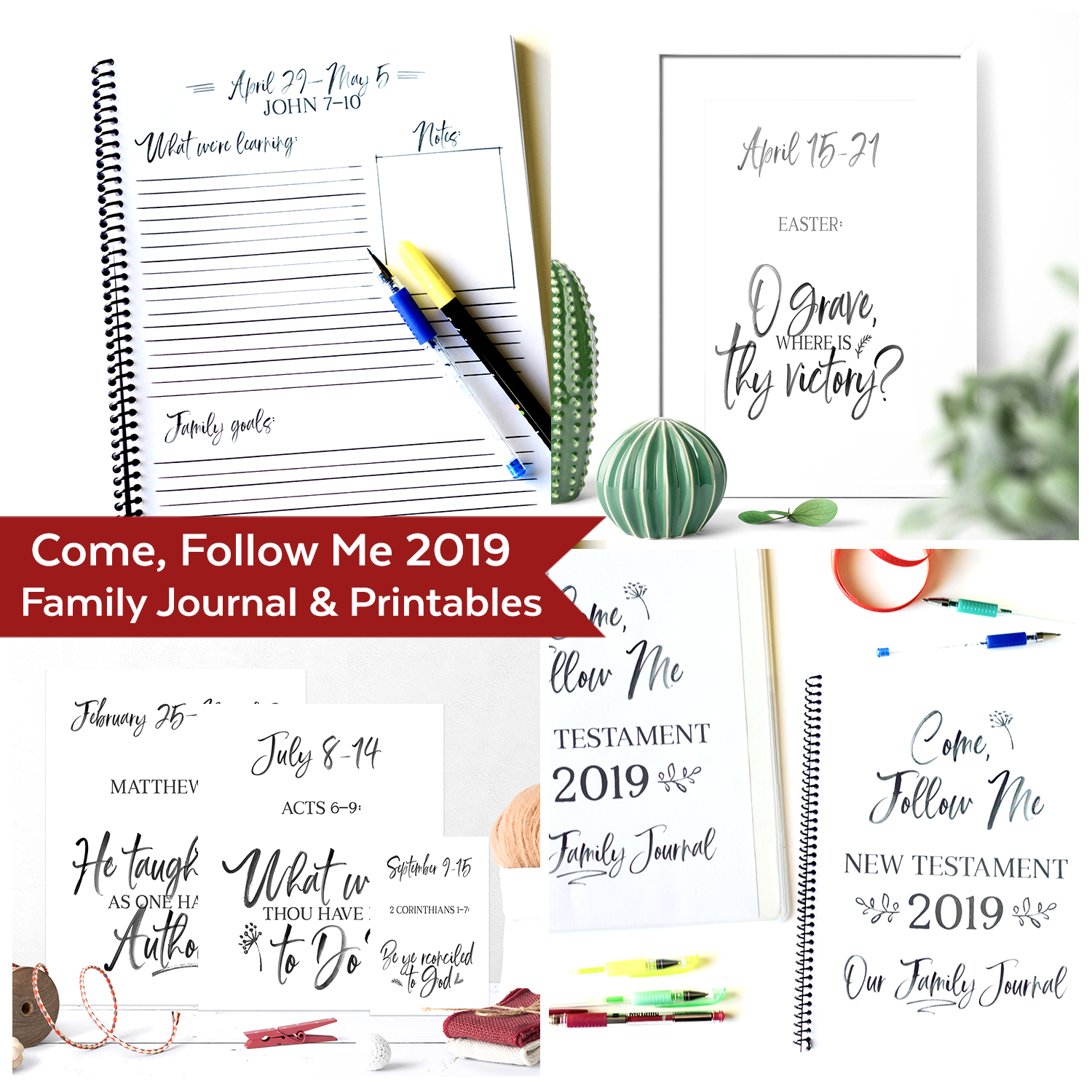 photo about Journal Printables named Occur Observe Me 2019 Printables
