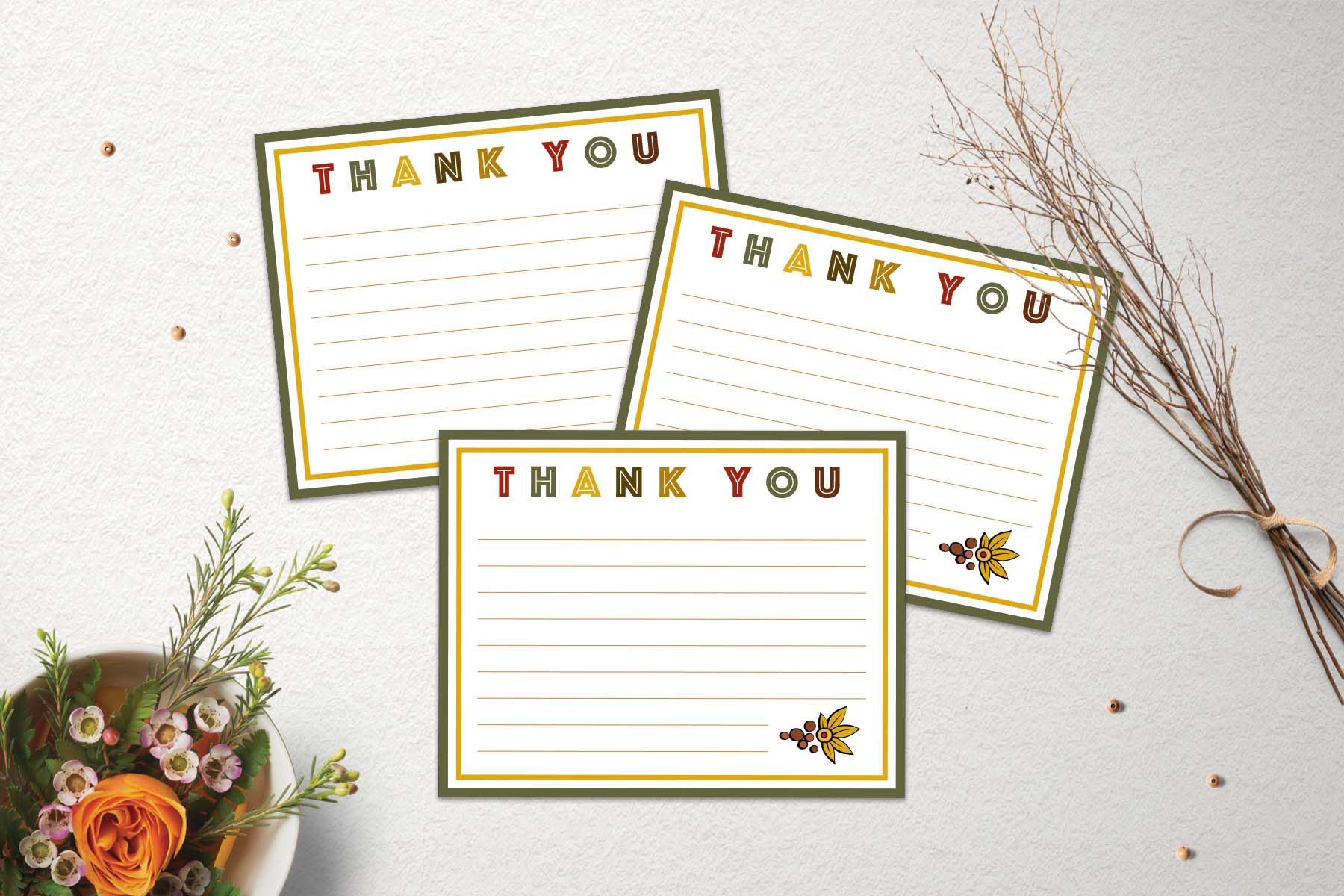 Free Thanksgiving Thank You Cards Www Teepeegirl Com