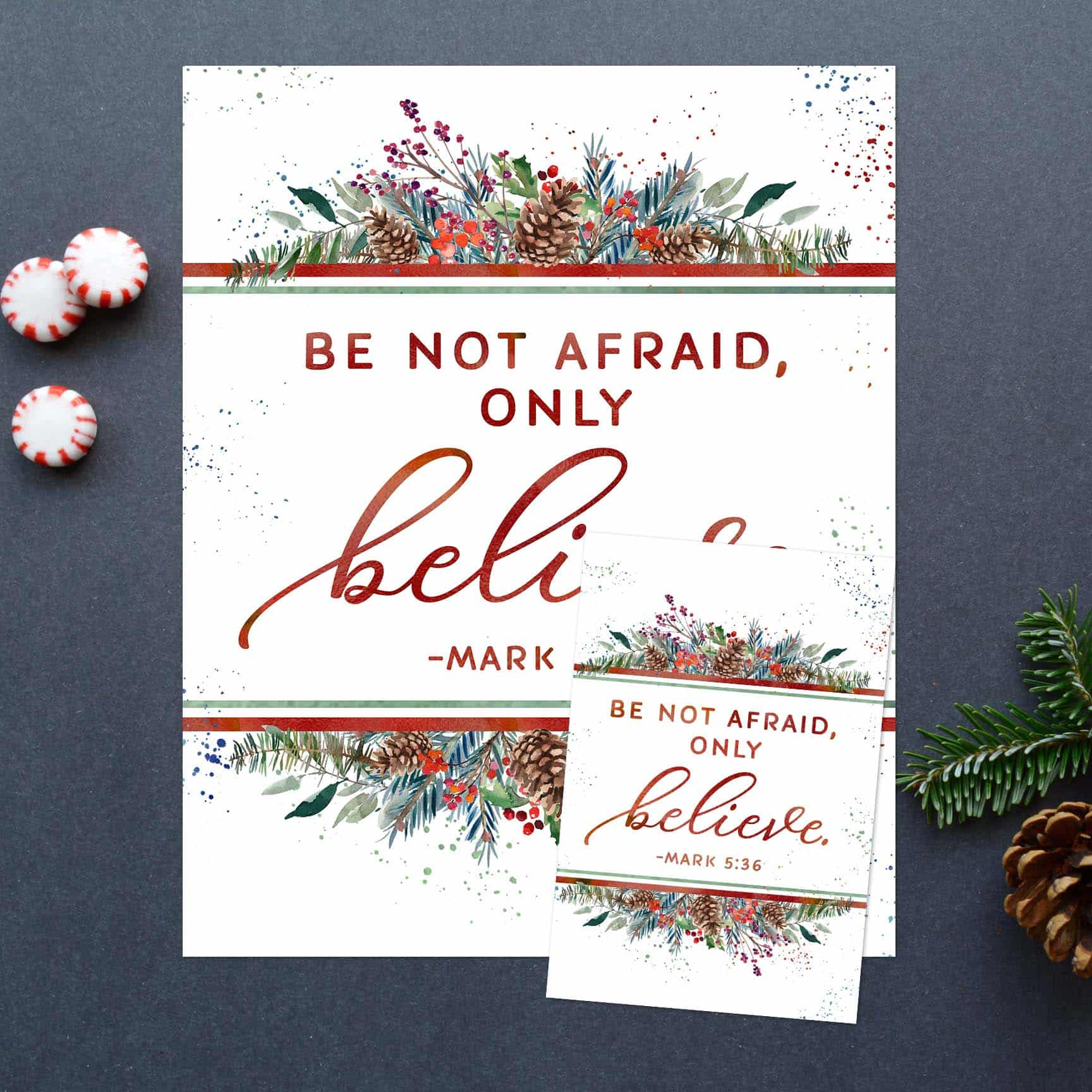 Free Light The Word One by One 2019 Scripture Printable www.TeepeeGirl.com